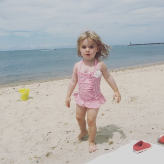 Our perfect little beach babe!